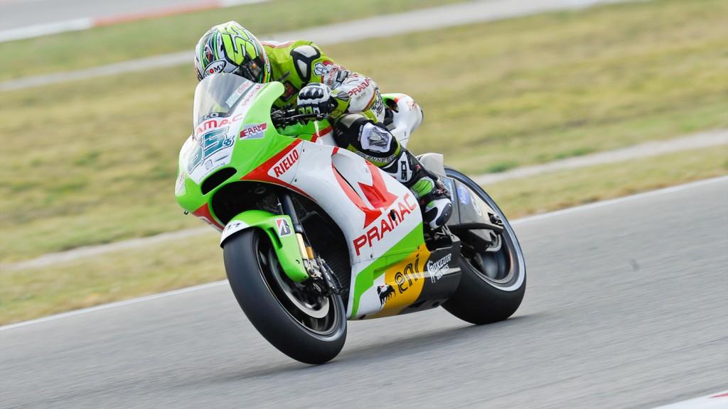 Loris Capirossi, Pramac Racing Team, Misano QP