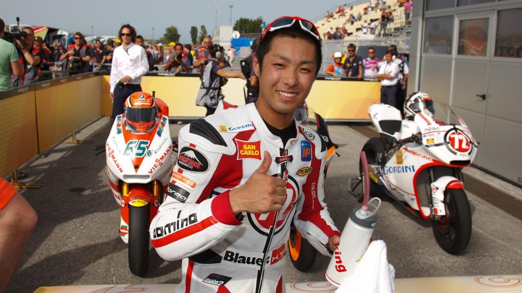 Yuki Takahashi, Gresini Racing Moto2, Misano QP