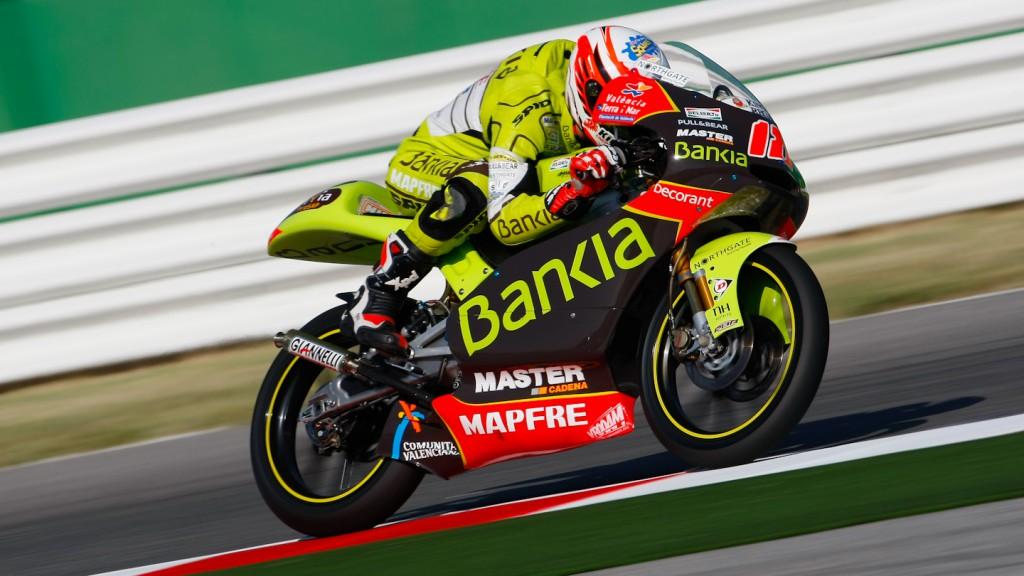 Nico Terol, Bankia Aspar Team 125cc, Misano FP3