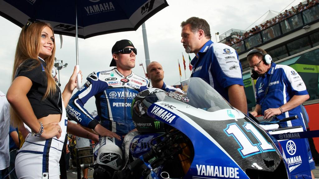 Ben Spies, Yamaha Factory Racing, Misano RAC - © Copyright Alex Chailan & David Piolé