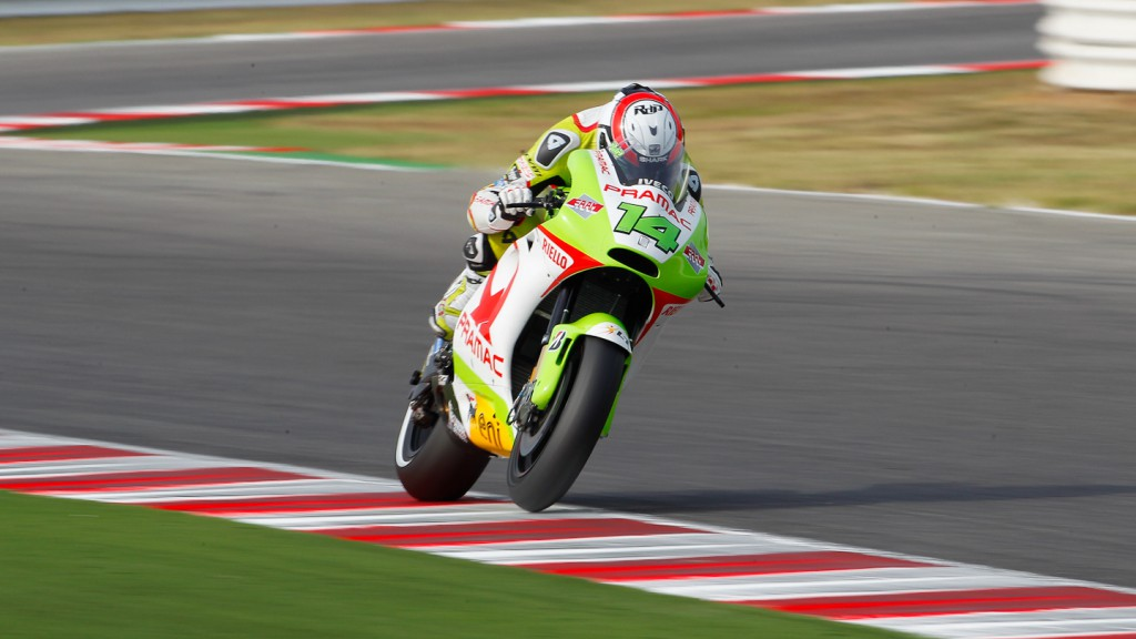 Randy de Puniet, Pramac Racing Team, Misano RAC