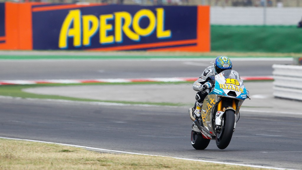 Alvaro Bautista, Rizla Suzuki MotoGP, Misano RAC