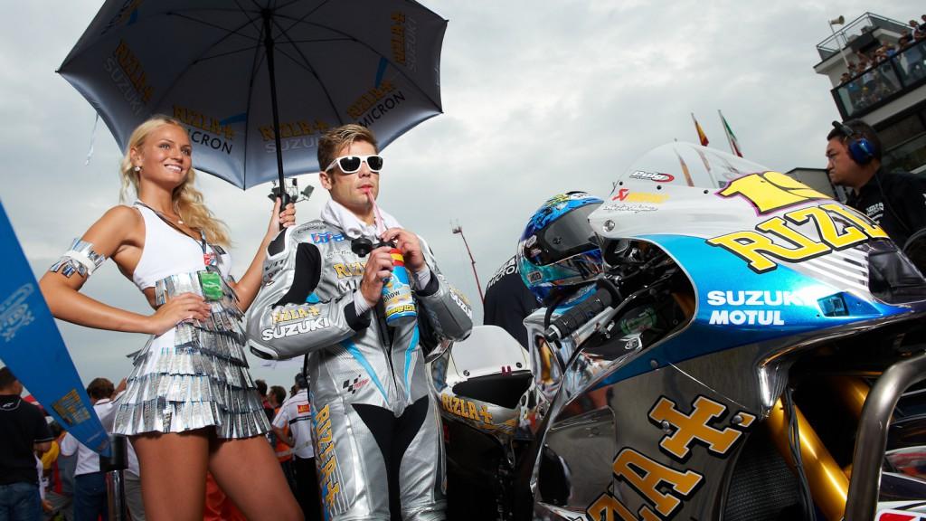 Alvaro Bautista, Rizla Suzuki MotoGP, Misano RAC - © Copyright Alex Chailan & David Piolé