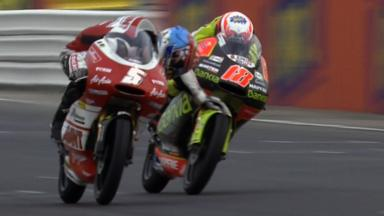 Misano 2011 - 125cc - Race - Action - Zarco and Terol