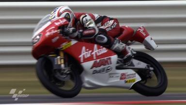 Misano 2011 - 125cc - Race - Action - Zulfahmi Khairuddin