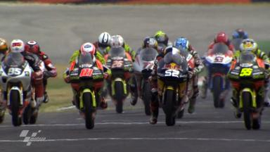 Misano 2011 - 125cc - Race - Action - Race Start