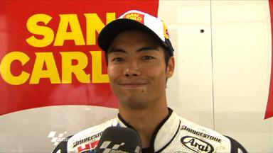 Misano 2011 - MotoGP - Race - Interview - Hiroshi Aoyama