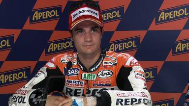 Misano 2011 - MotoGP - Race - Interview - Dani Pedrosa