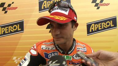Pedrosa analyses tough Misano race