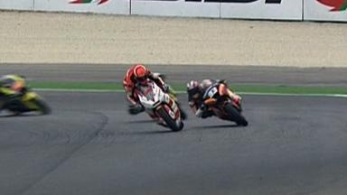 Misano 2011 - Moto2 - Race - Action - Stefan Bradl
