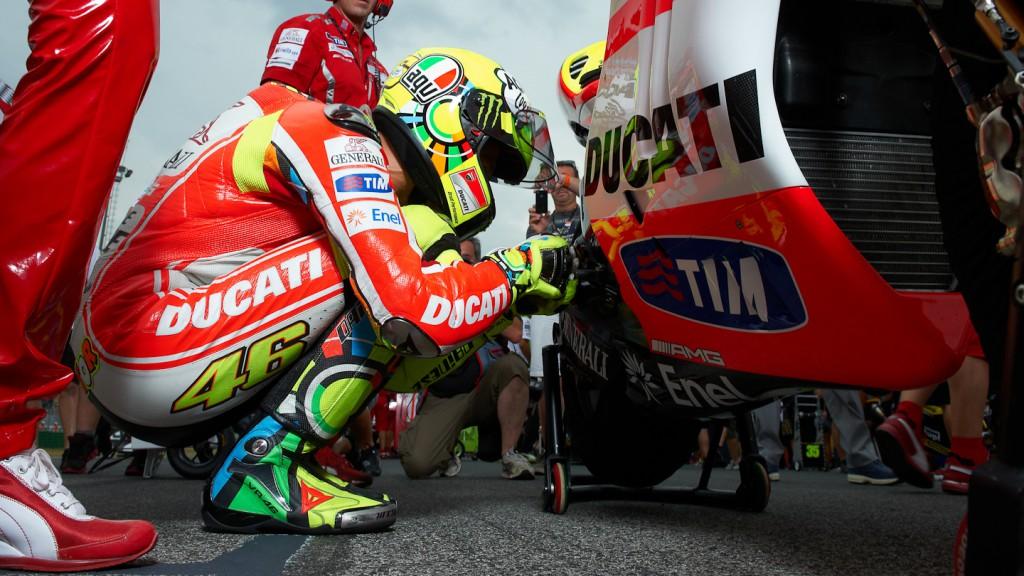Valentino Rossi, Ducati Team, Misano RAC - © Copyright Alex Chailan & David Piolé