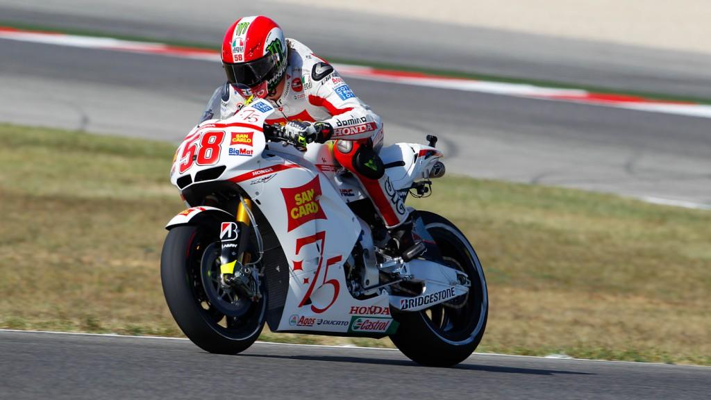 Marco Simoncelli, San Carlo Honda Gresini, Misano RAC
