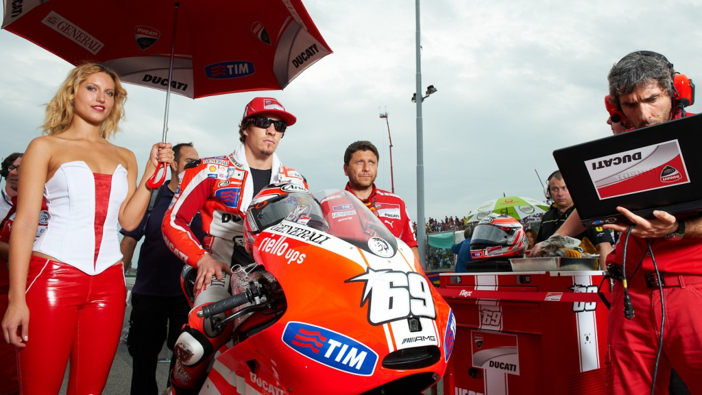 Nicky Hayden, Ducati Team, Misano RAC - © Copyright Alex Chailan & David Piolé