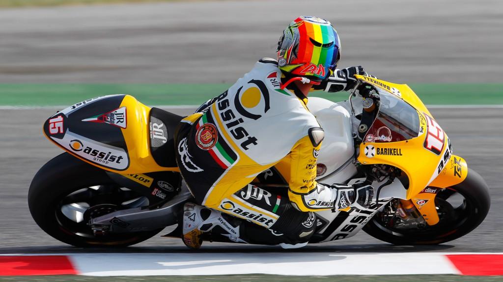 Alex de Angelis, JiR Moto2, Misano RAC