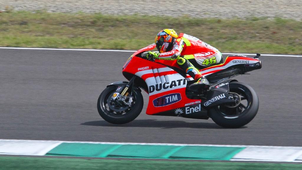 Valentino Rossi, Ducati Desmosedici GP12 Test, Mugello