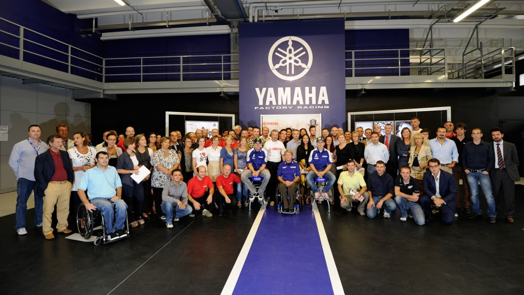 Spies, Rainey, Lorenzo, Yamaha Factory Racing, Yamaha Motor Racing Headquarters