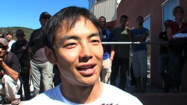 Hiroshi Aoyama pays tribute to Shoya Tomizawa