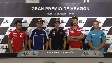 Gran Premio de Aragón Pre Event Press Conference