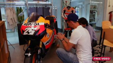 The making of a new Repsol look for Aragon.