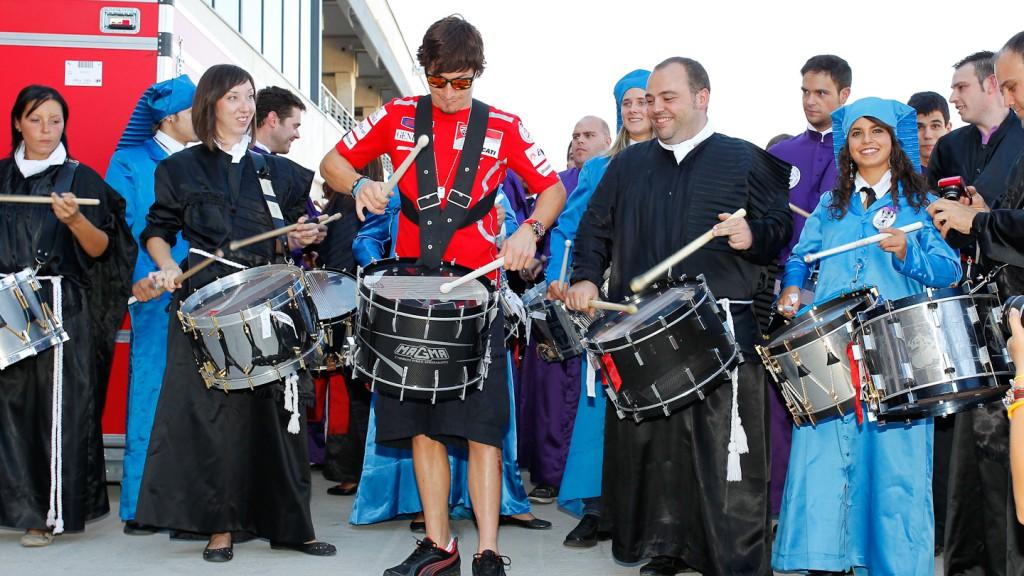 Nicky Hayden, Ducati Team, Gran Premio de Aragón Preevent, Motorland Aragón