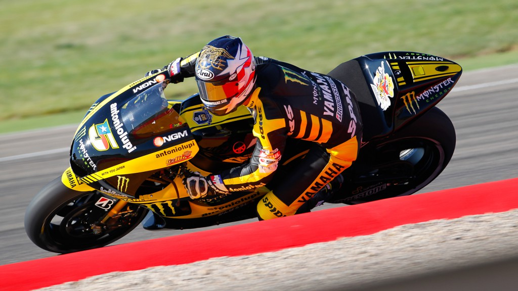Colin Edwards, Monster Yamaha Tech 3, MotorLand Aragón FP1