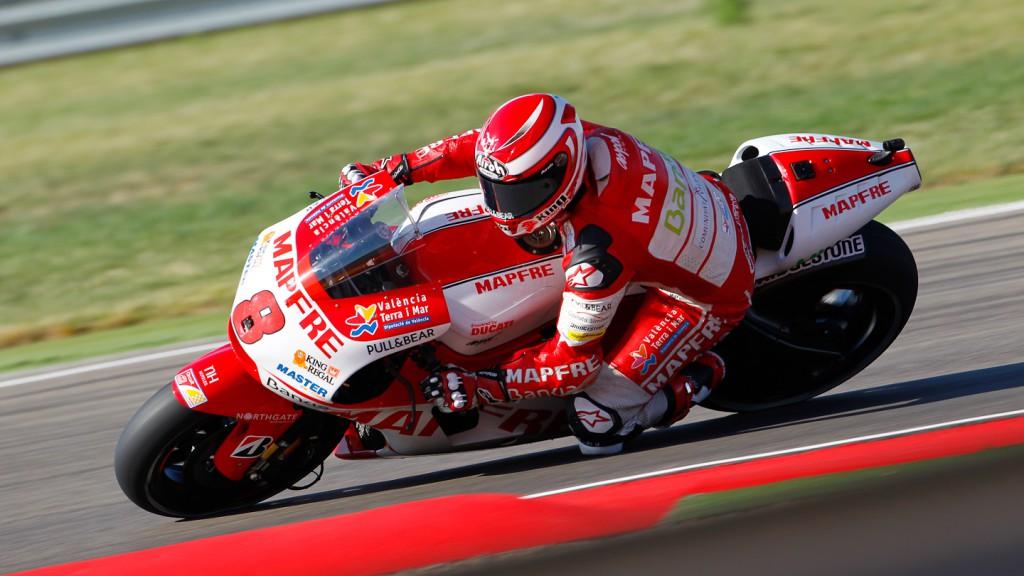 Hector Barbera, Mapfre Aspar Team MotoGP, MotorLand Aragón FP1