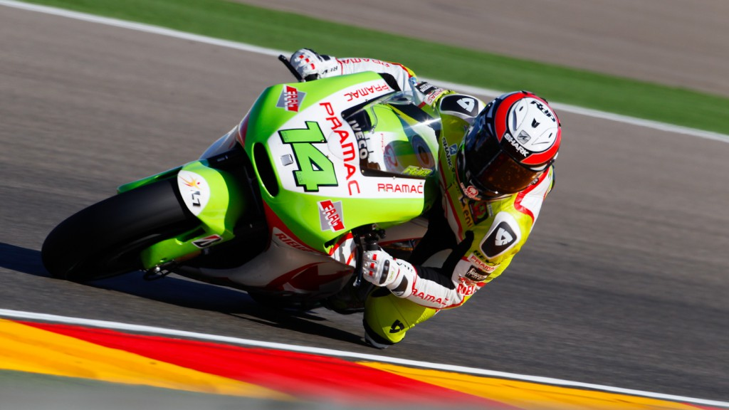 Randy de Puniet, Pramac Racing Team, MotorLand Aragón FP1