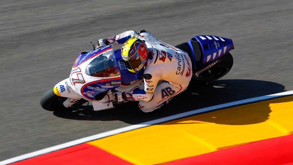 Karel Abraham, Cardion AB Motoracing, MotorLand Aragón FP1