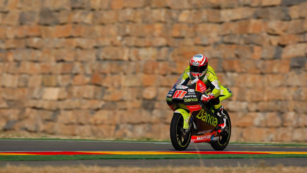 Nico Terol, Bankia Aspar Team 125cc, MotorLand Aragón FP1