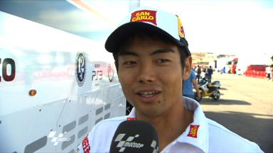Aragon 2011 - MotoGP - FP2 - Interview - Hiroshi Aoyama