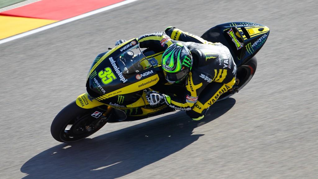 Cal Crutchlow, Monster Yamaha Tech 3, MotorLand Aragón FP1