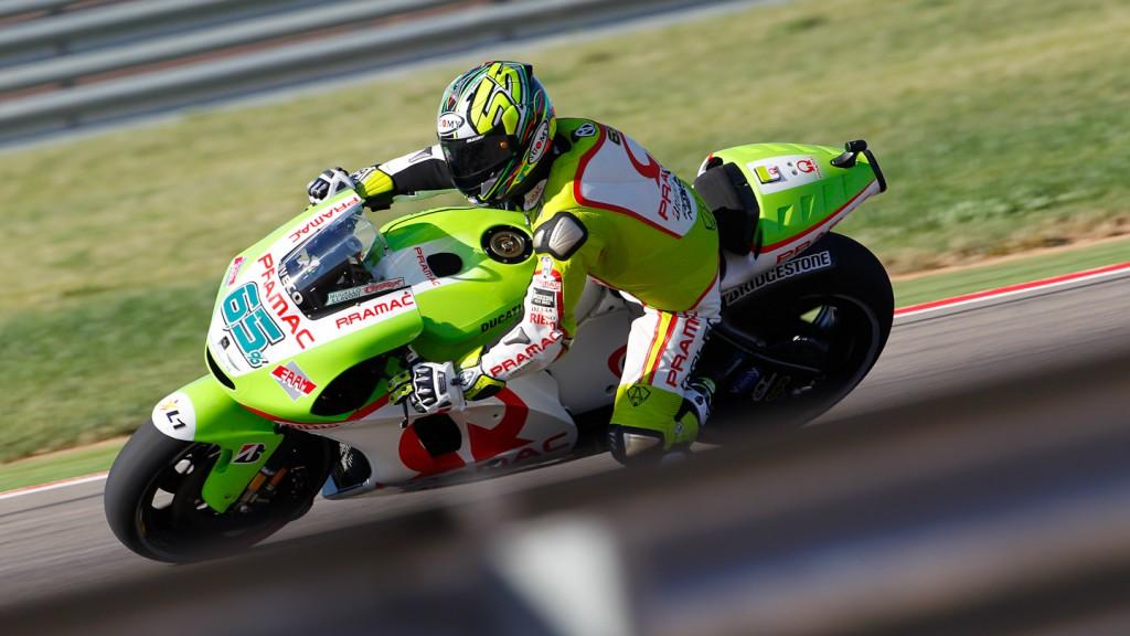 Loris Capirossi, Pramac Racing Team, MotorLand Aragón FP1