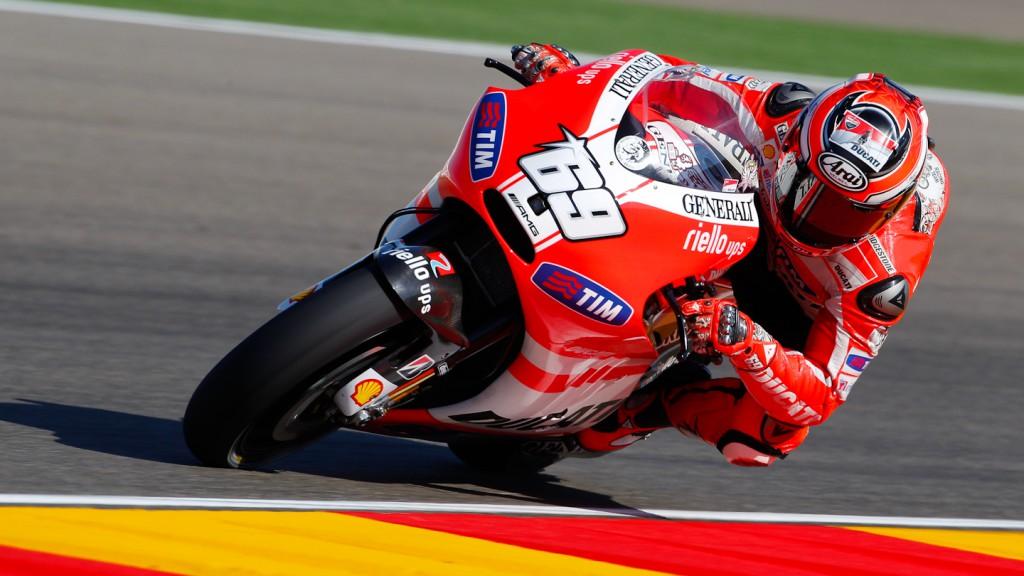 Nicky Hayden, Ducati Team, MotorLand Aragón FP1