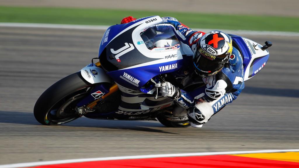 Jorge Lorenzo, Yamaha Factory Racing, MotorLand Aragón QP
