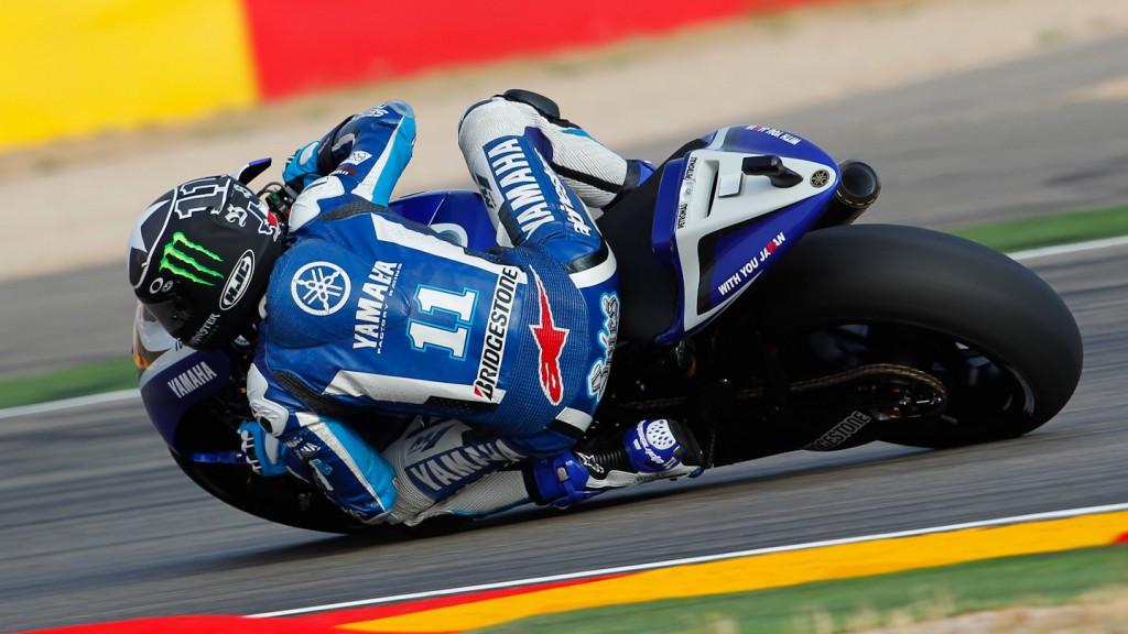 Ben Spies, Yamaha Factory Racing, MotorLand Aragón QP