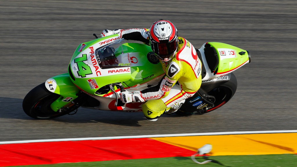 Randy de Puniet, Pramac Racing Team, MotorLand Aragón QP