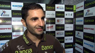Aragón 2011 - 125cc - QP - Interview - Héctor Faubel