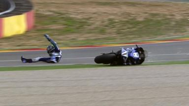 Aragón 2011 - MotoGP - FP2 - Action - Ben Spies - Crash