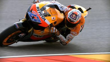 Aragón 2011 - MotoGP - FP2 - Highlights