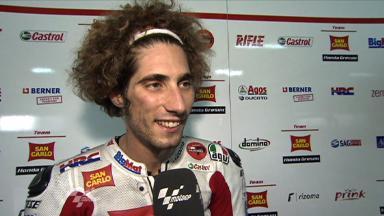 Aragón 2011 - MotoGP - QP - Interview - Marco Simoncelli