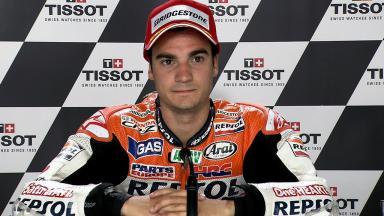 Aragón 2011 - MotoGP - QP - Interview - Dani Pedrosa