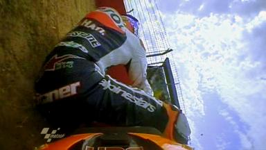 Aragón 2011 - MotoGP - QP - Action - Casey Stoner - Crash