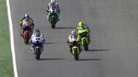 Der Team CatalunyaCaixa Repsol Fahrer wird von Startplatz eins in das Rennen gehen, er holte sich in Motorland seine sechste Pole der Saison und hatte dabei eine halbe Sekunde Vorsprung auf Julián Simón.