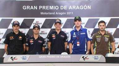 Gran Premio de Aragón QP Press Conference