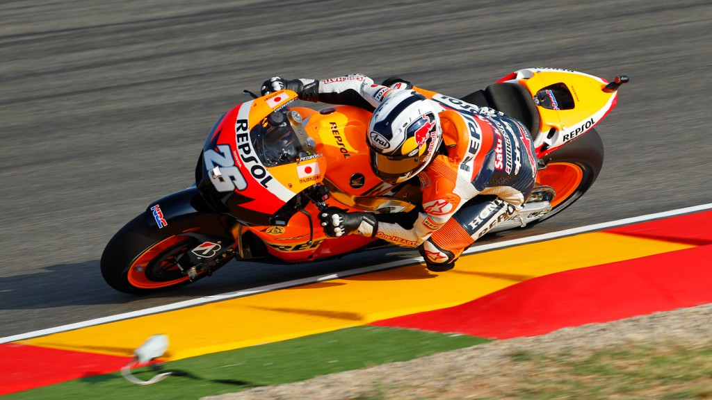 Dani Pedrosa, Repsol Honda Team, MotorLand Aragón QP