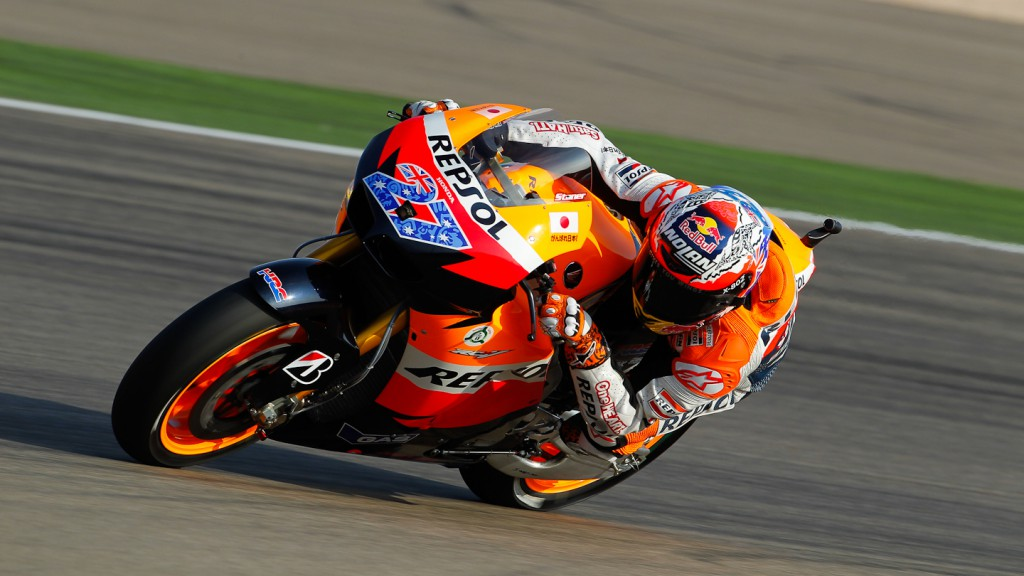 Casey Stoner, Repsol Honda, MotorLand Aragón QP