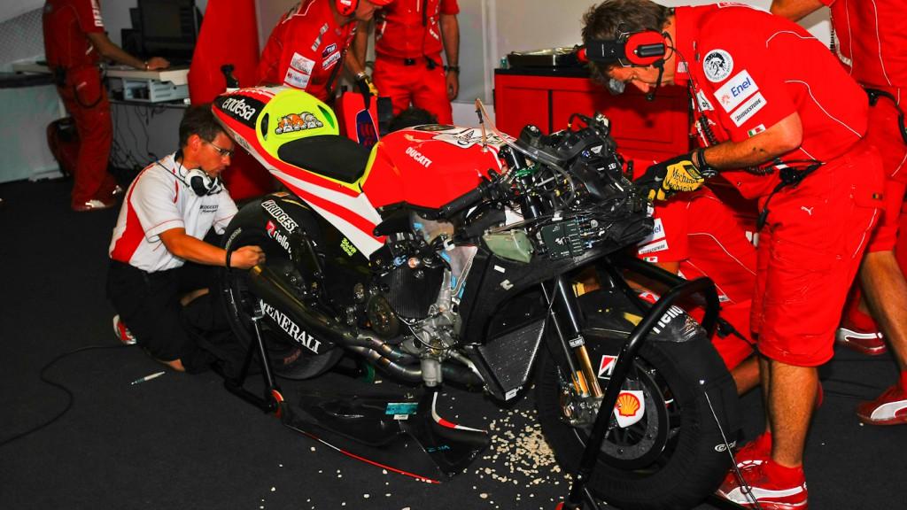 Valentino Rossi, Ducati Team, MotorLand Aragón QP