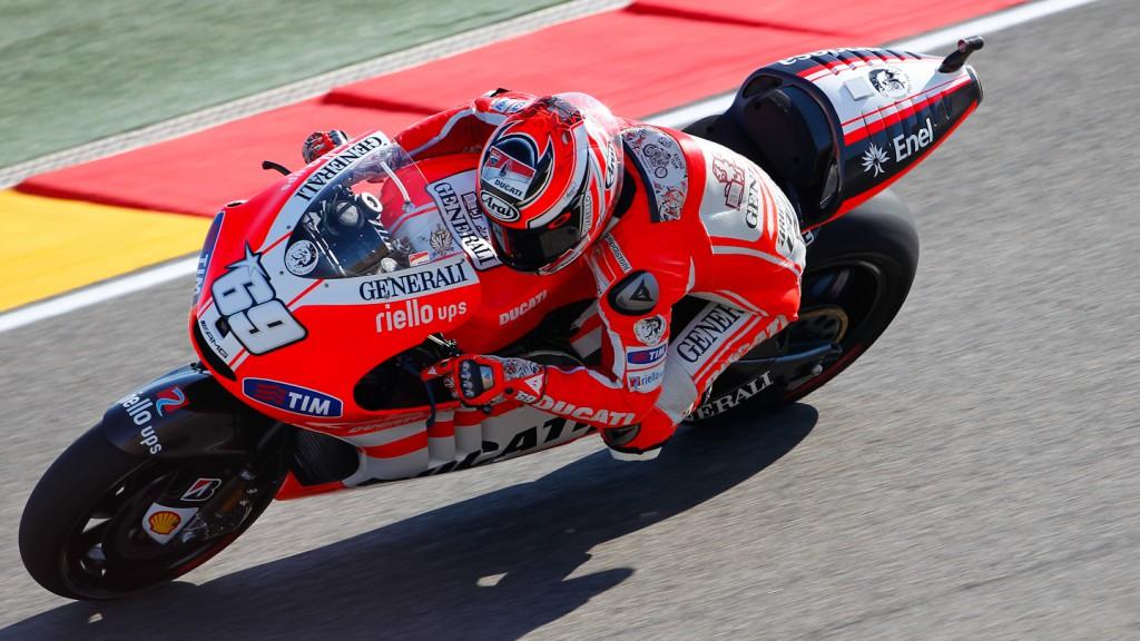 Nicky Hayden, Ducati Team, MotorLand Aragón QP