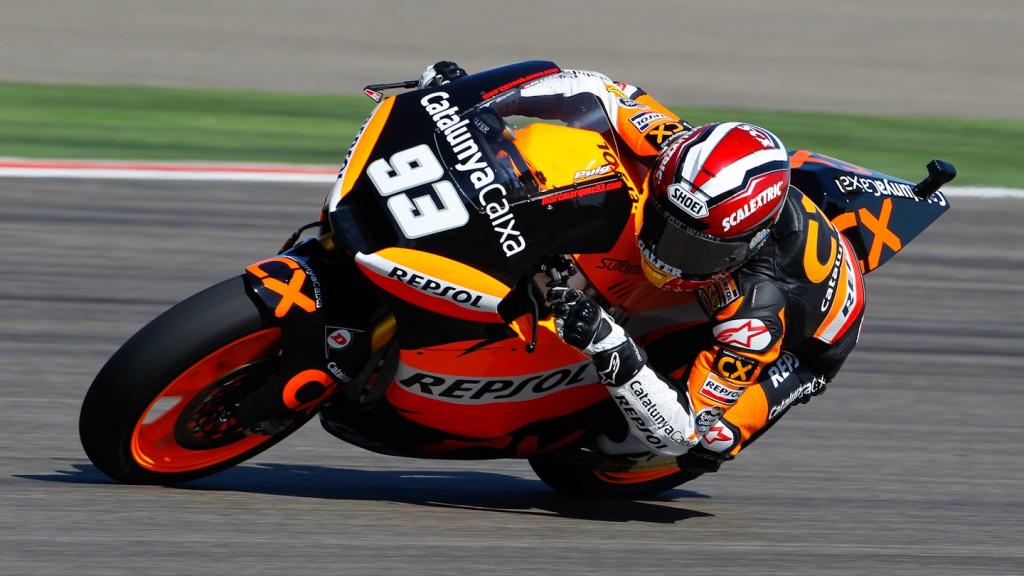 Marc Marquez, Team CatalunyaCaixa Repsol, MotorLand Aragón FP2