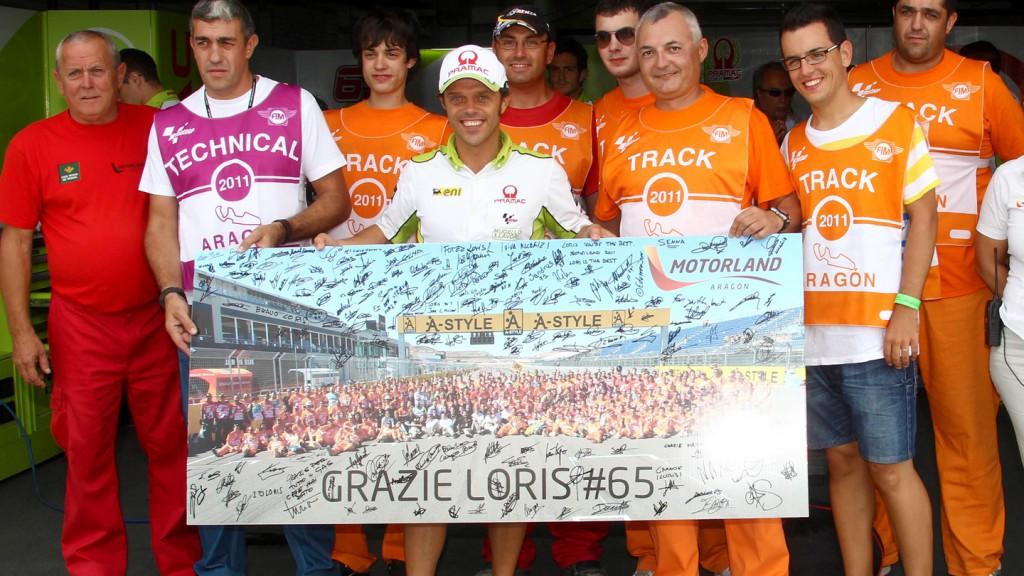 Loris Capirossi, Pramac Racing Team, MotorLand Aragón